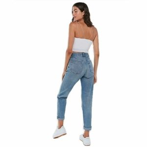 BDG Distressed High Waist Mom Jeans Size 25